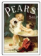 Pears His Turn Next Nostalgic Steel Sign (small)